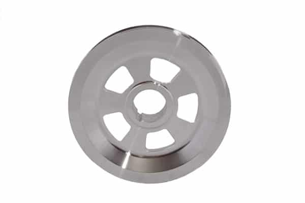 silver pulley