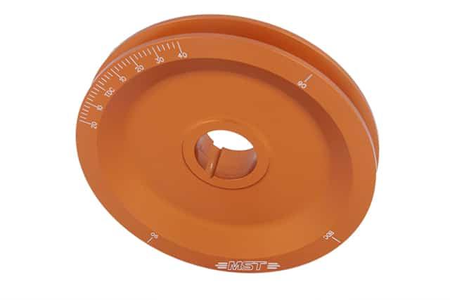 orange pulley