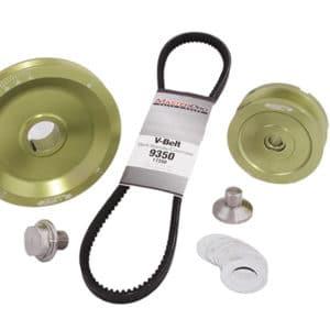 vbelt pulley set