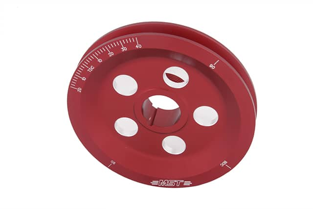 red pulley