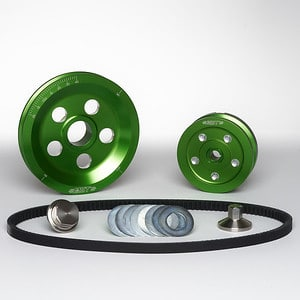 MST V-Belt Pulley Kit - Matador - Kelly Green