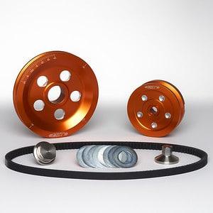 MST V-Belt Pulley Kit - Matador - Orange