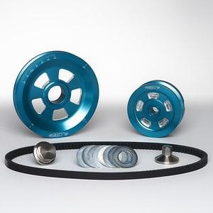 MST V-Belt Pulley Kit - Renegade - Ocean Wave Blue