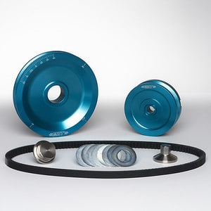 MST V-Belt Pulley Kit - Solid - Ocean Wave Blue