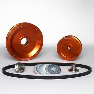 MST V-Belt Pulley Kit - Solid - Orange