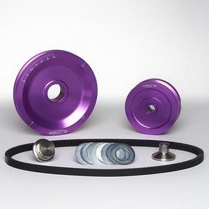 MST V-Belt Pulley Kit - Solid - Purple