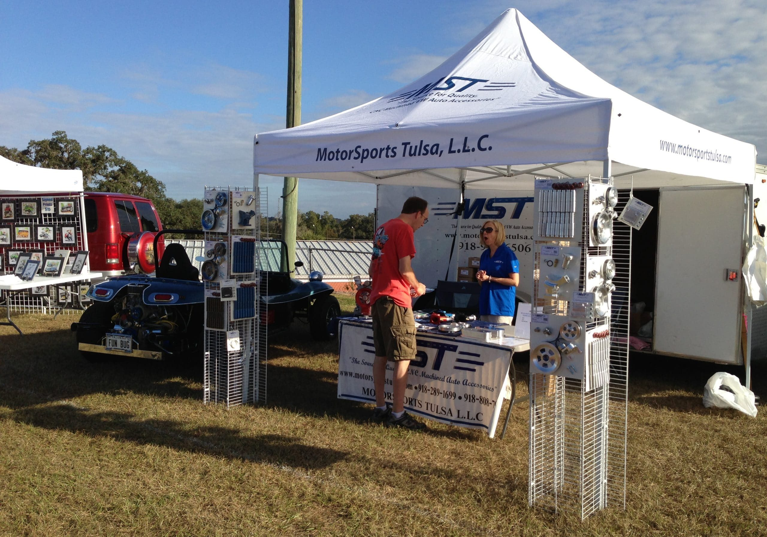 MST booth at show